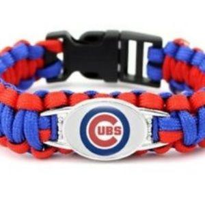 Chicago Cubs Para Cord Bracelet NEW